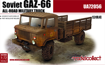 Picture of soviet GAZ-66 all-road military truck (2 pieces inside)