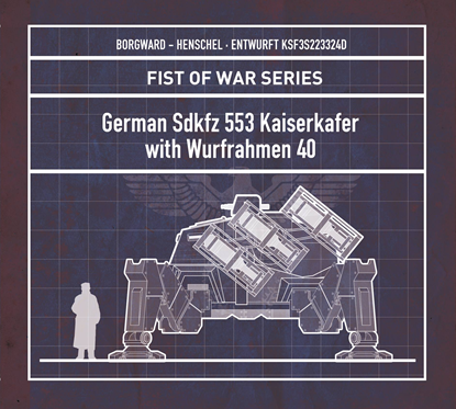 图片 德国Sdkfz 553 Kaiserkafer with Wurfrahmen 40